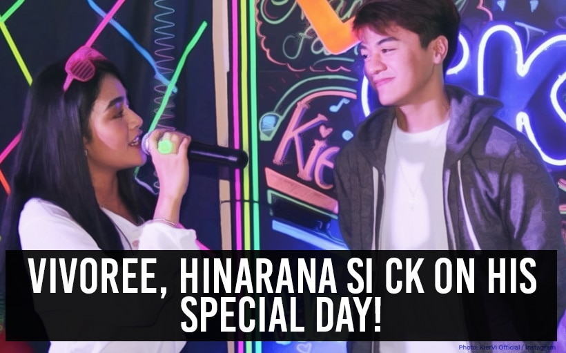 Vivoree, hinarana si CK on his special day!