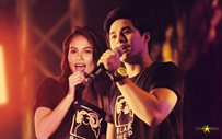 IN PHOTOS: McLisse, nagpasaya sa Enchanted Kingdom!