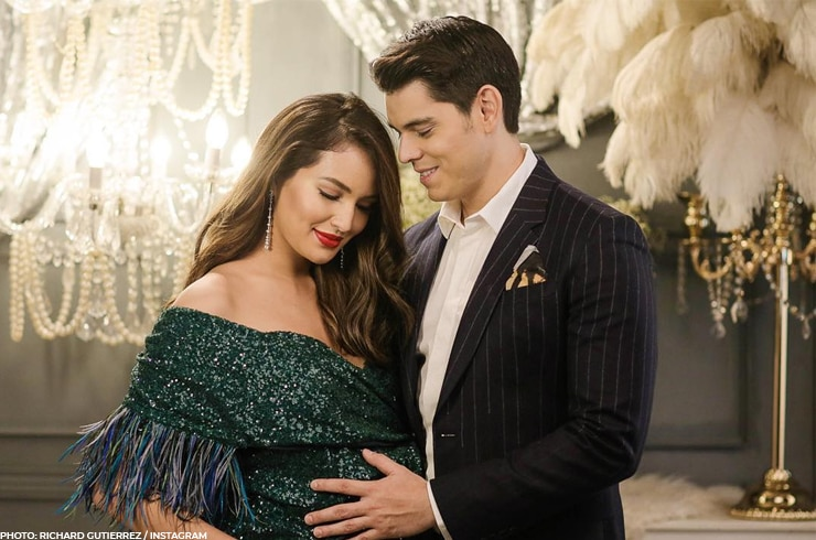 Richard Gutierrez with Sarah Lahbati