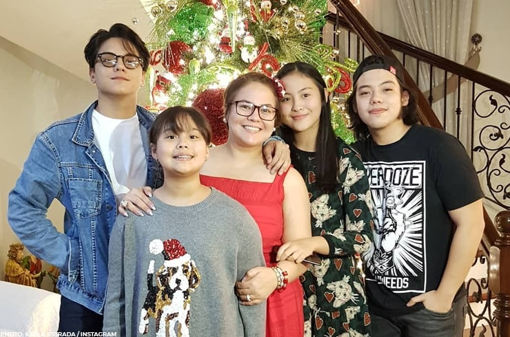 It's a family Christmas party for Daniel Padilla