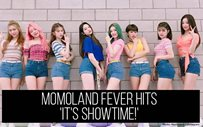 MOMOLAND fever hits 'It's Showtime!'