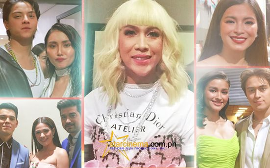 PHOTOS: Backstage kulitan at the ABS-CBN Christmas Special