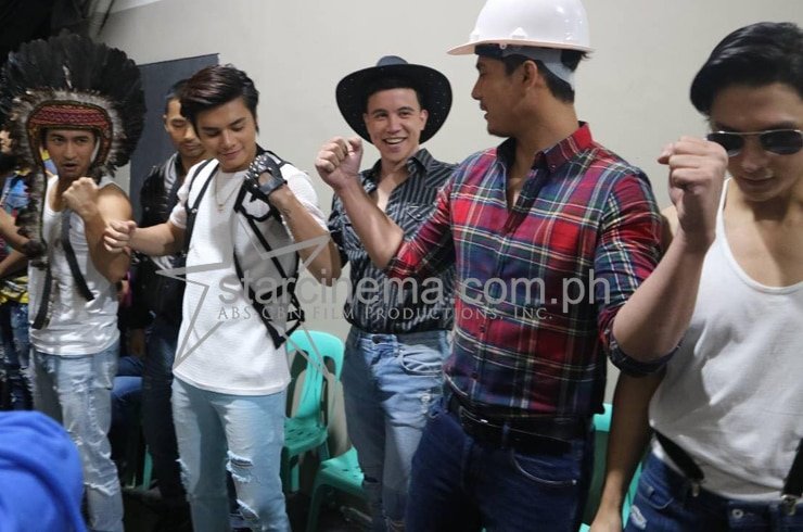 Backstage at the ABS-CBN Christmas Special 27