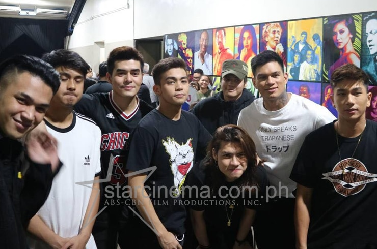 Backstage at the ABS-CBN Christmas Special 30