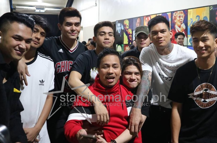 Backstage at the ABS-CBN Christmas Special 40