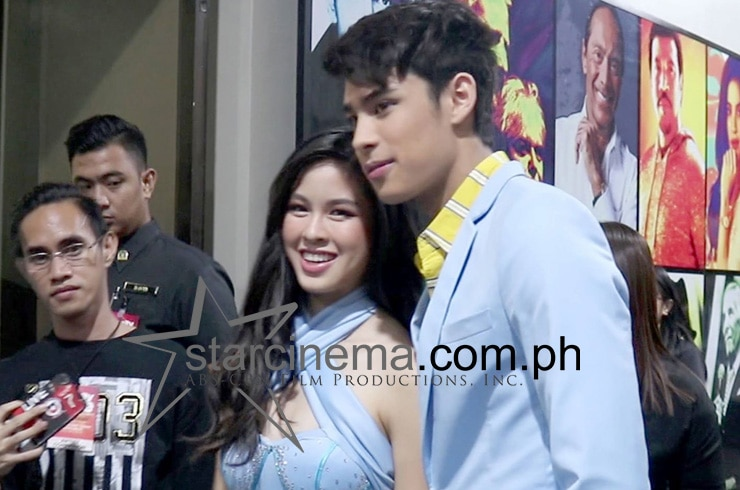 Donny Pangilinan and Kisses Delavin