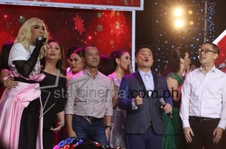 Kapamilya stars at the ABS-CBN Christmas Special 6