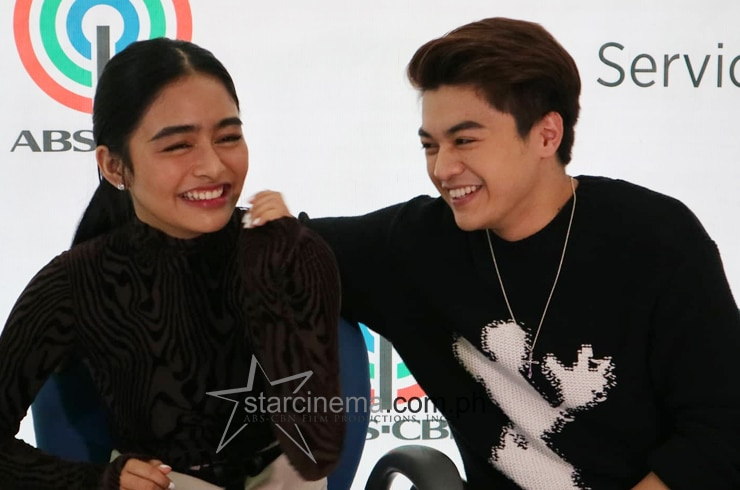 KierVi at their Star Pop contract signing! 11