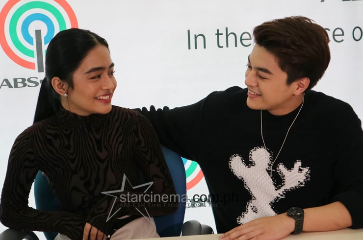 KierVi at their Star Pop contract signing! 4