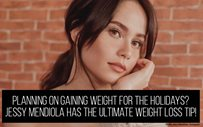 Planning on gaining weight for the holidays? Jessy Mendiola has the ultimate weight loss tip!