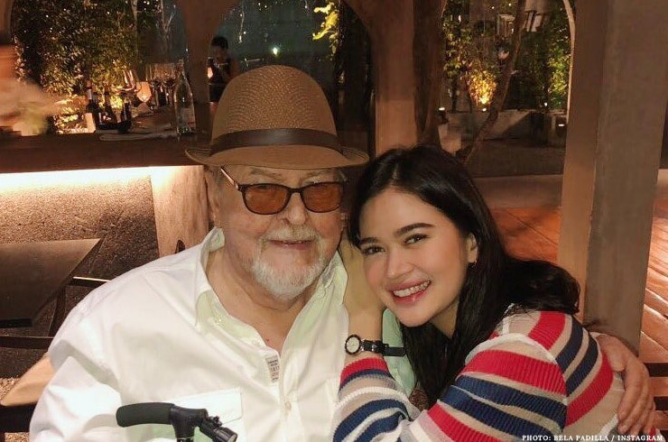 """Fantastica"" star Bela Padilla with dad in Thailand"