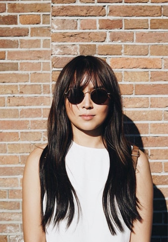 George (Kathryn Bernardo) was all about clean lines and polished outfits in