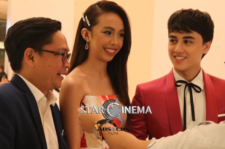 MayWard, Donny, and Direk Barry at the MMFF 2018 Awards Night 1