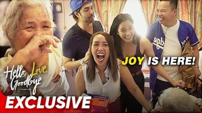 The 'Hello, Love, Goodbye' barkada brought Christmas early to an OFW's family!