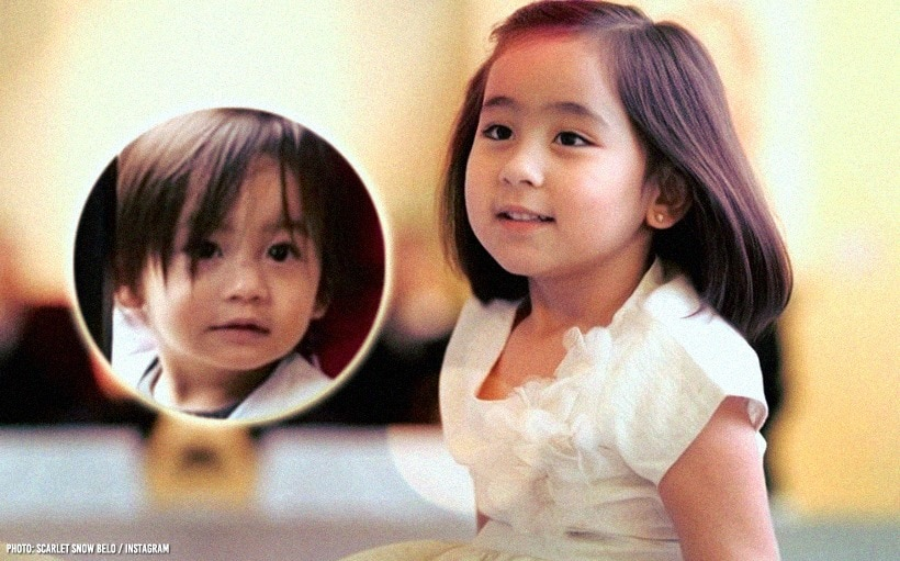 Scarlet Snow Belo meets Baby Elias Cruz in Japan!