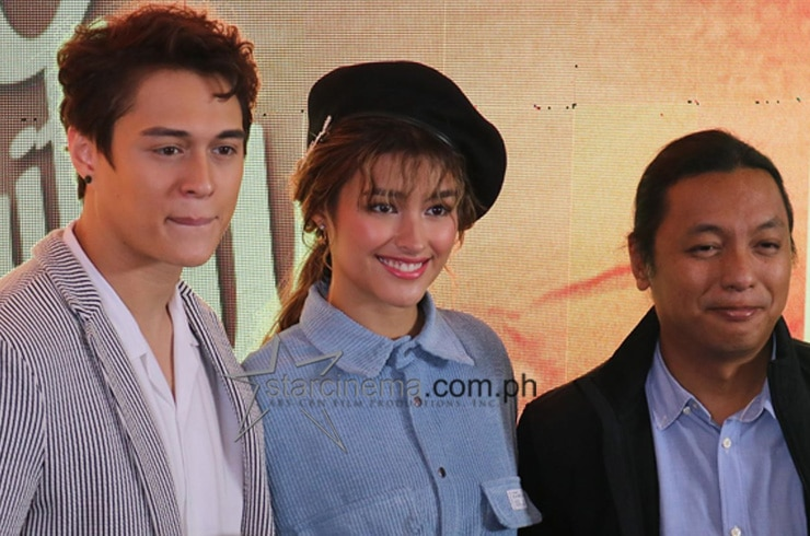 Liza and Enrique dazzle at the 'Make It With You' grand media kick-off
