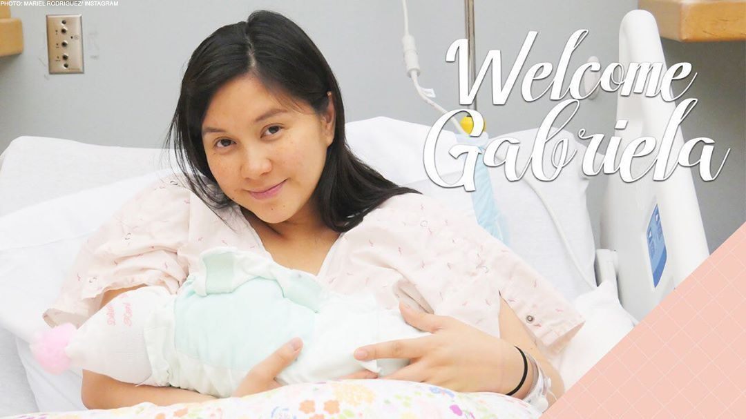 Introducing Baby Gabriela, Mariel and Robin's baby girl number two!