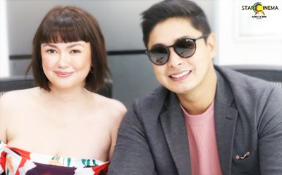 IN PHOTOS: Angelica Panganiban and Coco Martin hold story conference for upcoming romance film