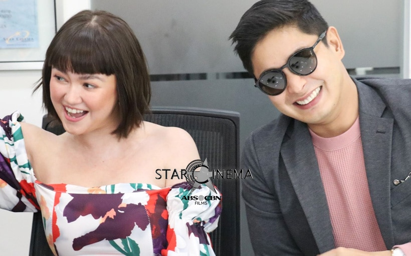 Angelica Panganiban and Coco Martin hold story conference for upcoming romance film