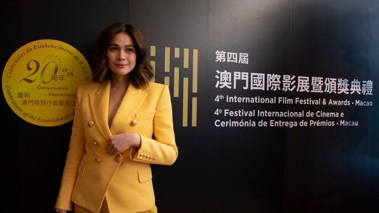 Bea Alonzo with other Asian stars at the 2019 Asian Star: Up Next conference in Macau