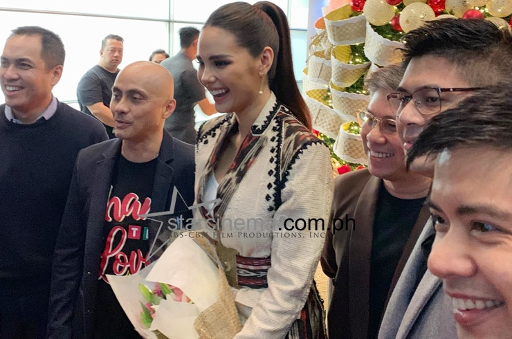 Miss Universe 2018 Catriona Gray gets a warm welcome at ABS-CBN