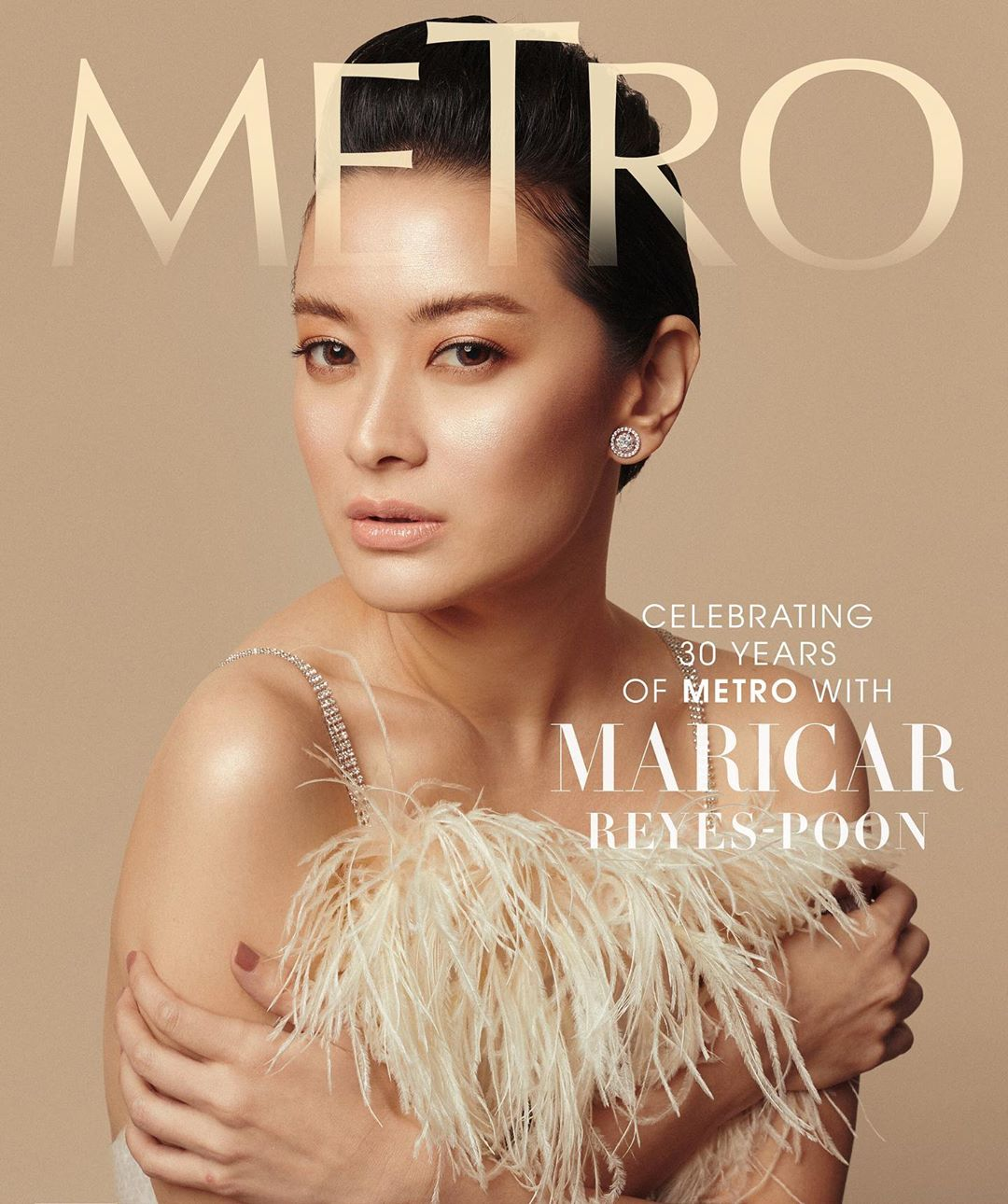 Maricar Reyes-Poon for #Metro30's anniversary issue