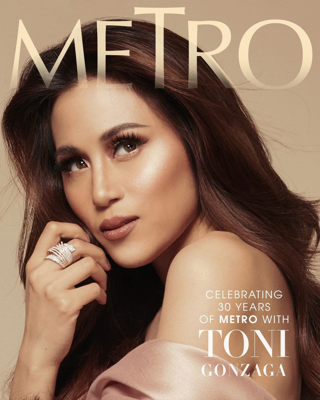 Toni Gonzaga for #Metro30's anniversary issue