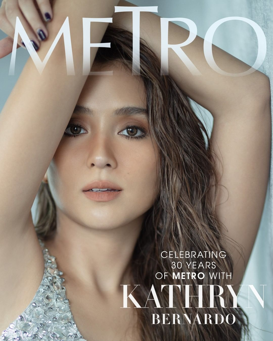 Kathryn Bernardo for #Metro30's anniversary issue
