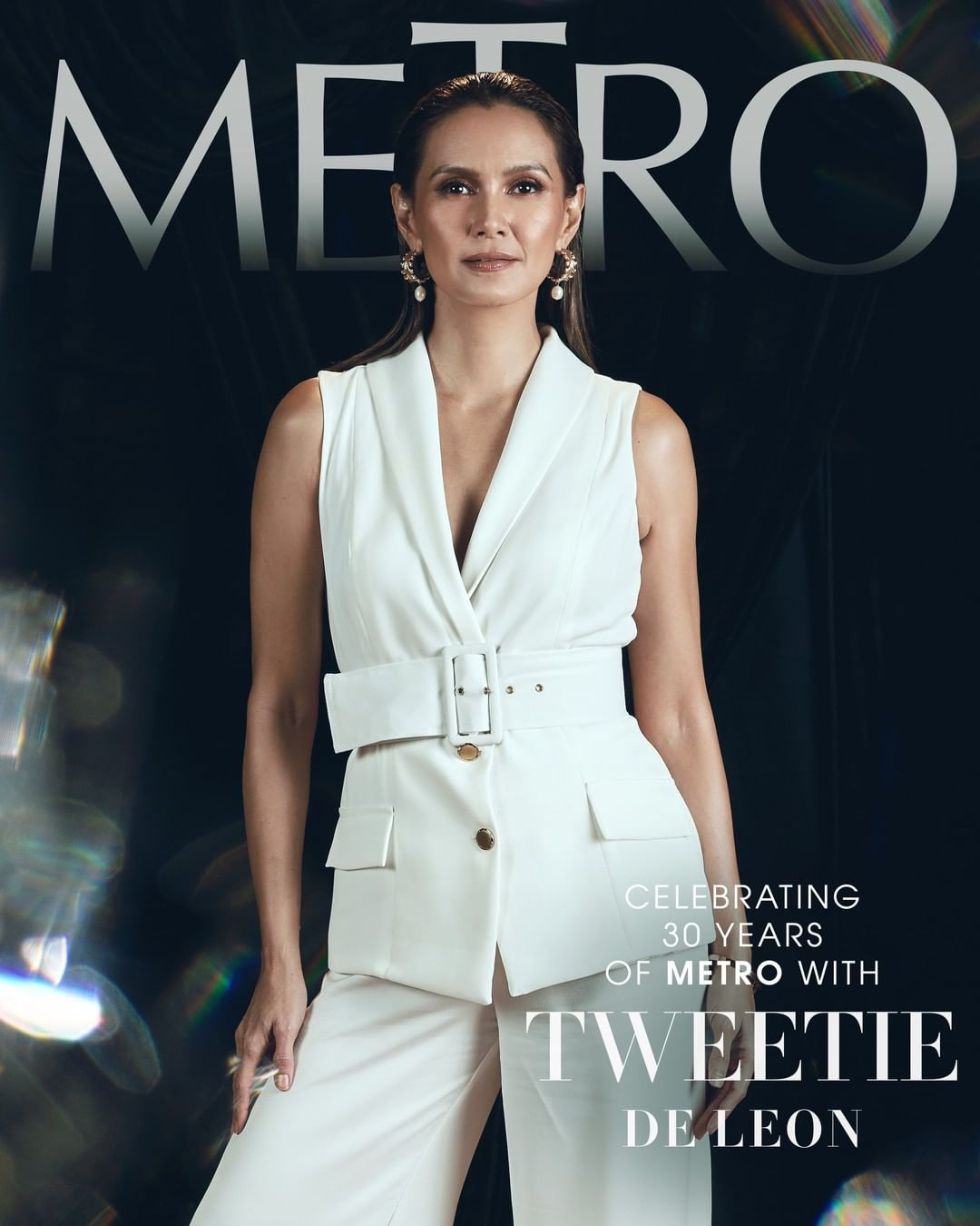 Tweetie De Leon for #Metro30's anniversary issue