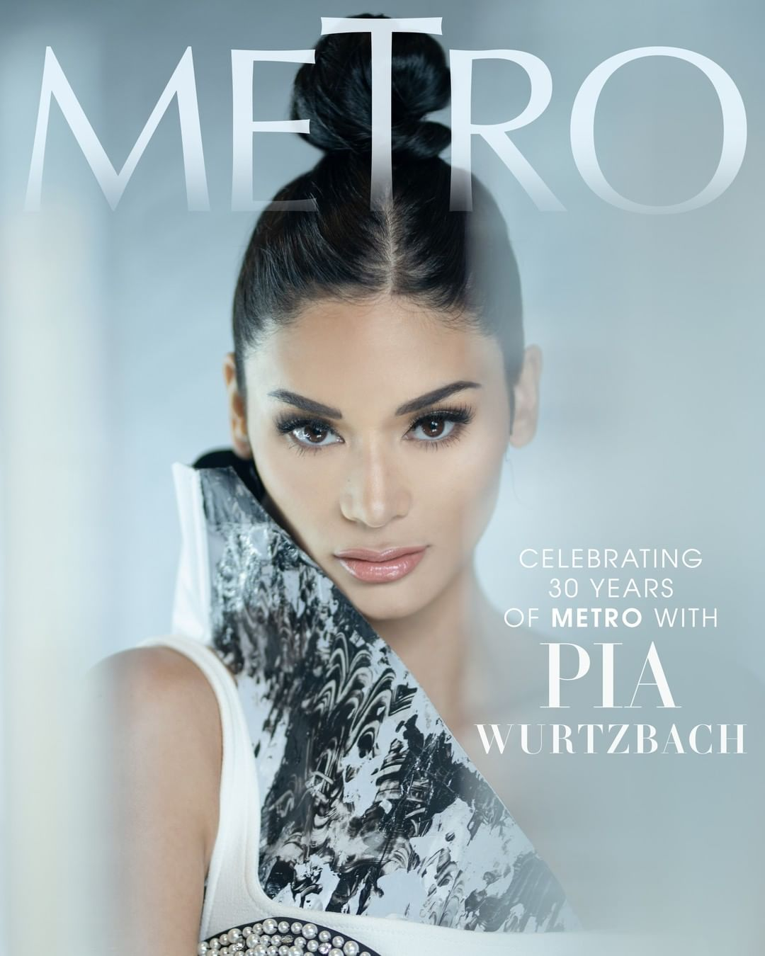 Pia Wurtzbach for #Metro30's anniversary issue