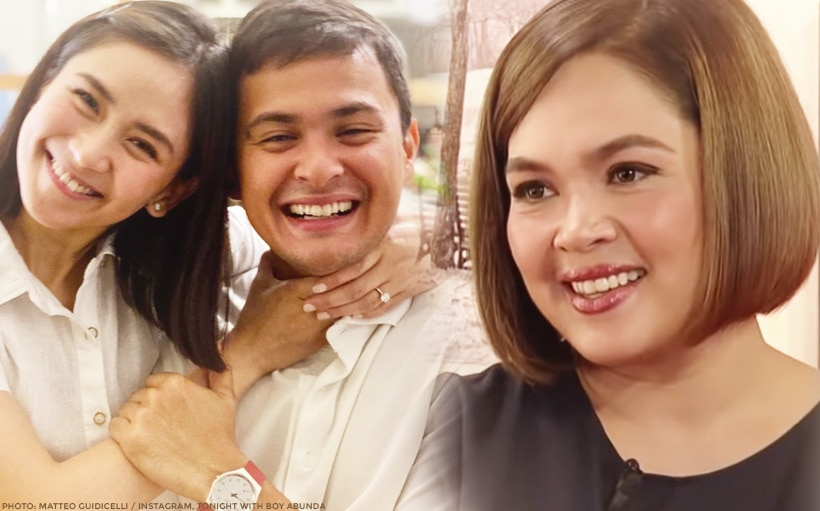 Judy Ann gives advice to Sarah ahead of wedding: 'Just enjoy the years na kayong dalawa lang'