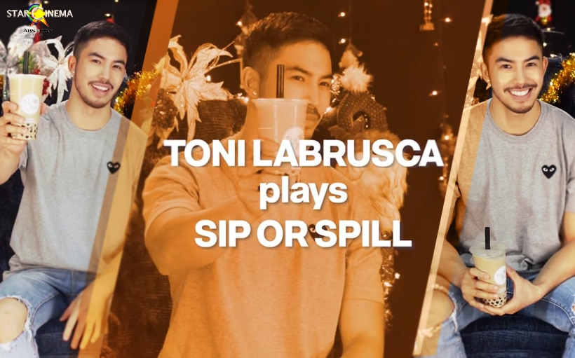 5 juicy revelations from Tony Labrusca's Sip or Spill game!