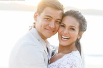 Iza Calzado and Ben Wintle celebrate first anniversary!
