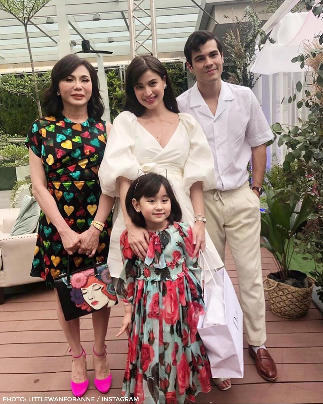 What went down at Erwan and Anne's baby bash!
