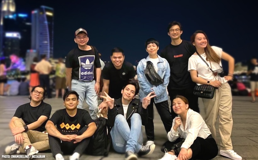 Joshua Garcia treats his team to a Singapore trip for Christmas!