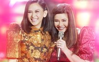 Sarah Geronimo performs 'Tala' with Regine Velasquez!