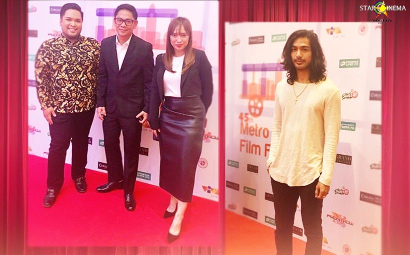 'The Mall, The Merrier' director Barry Gonzales graces MMFF 2019 Awards Night!