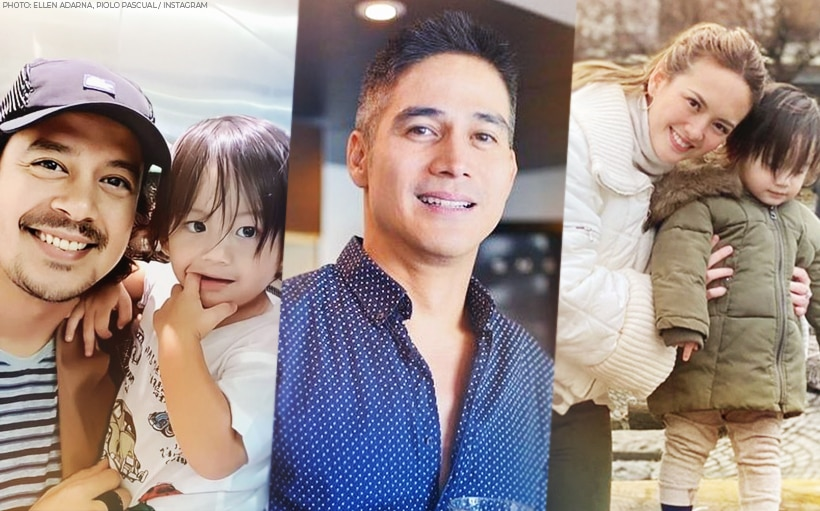 Baby Elias Cruz calls Papa P his father!