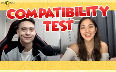 Are they a match? Watch Charlie Dizon and Jameson Blake's Compatibility Test!