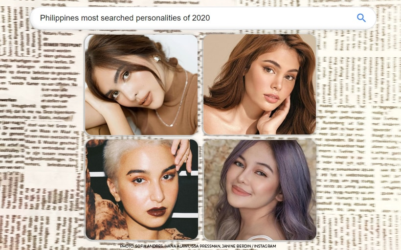 Issa Pressman, Kim Jong Un top PH's most searched personalities of 2020