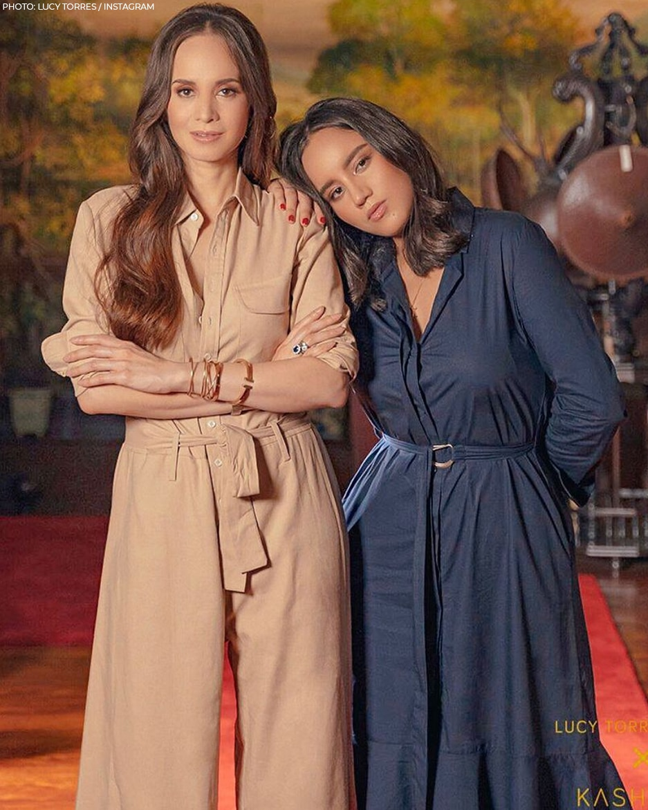 Lucy Torres and Juliana Gomez's mother and daughter moments!