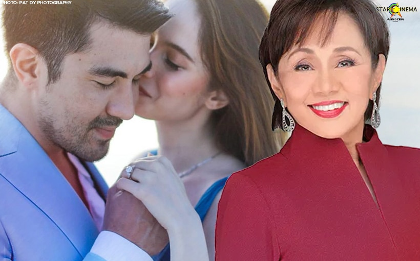 Vilma Santos ecstatic over Luis and Jessy's engagement