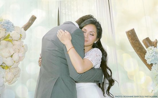 Roxanne Barcelo is now married!