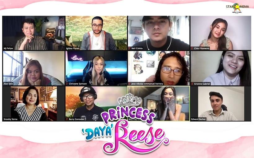'Princess Dayareese' holds star-studded celebrity screening!