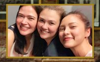 LOOK: Angelica, Bela, Kim get matching tattoos!