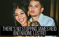 There's no stopping James Reid and Nadine Lustre!