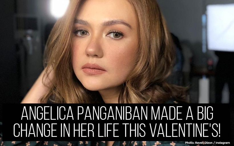 Angelica Panganiban made a big change in her life this Valentine's!