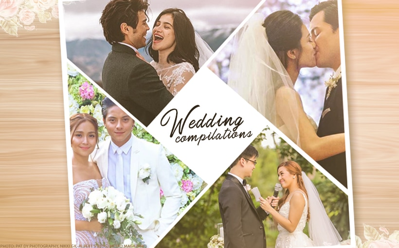 WATCH: 11 of the best celebrity wedding videos to cry to!