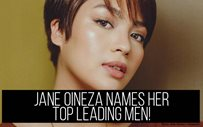 Jane Oineza names her top leading men!