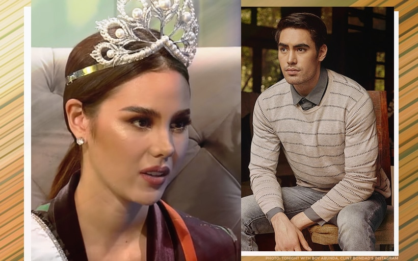 Catriona Gray on breakup with Clint Bondad: 'It didn't work out'